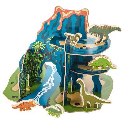 jattelik світ динозаврів набір 12 шт.