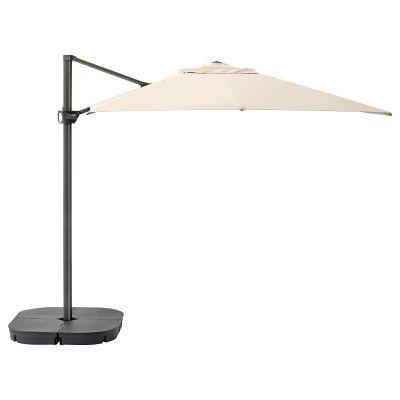 seglaro / svarto парасоля висяча з підставкою з нахилом