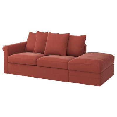 gronlid 3місний диванліжко з вікритою секцією