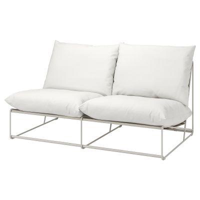 havsten 2місний диван кімнатний/вуличний, без підлокітників