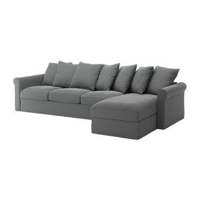 gronlid 4місний диван з кушеткою