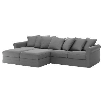 gronlid 4місний диван з кушетками