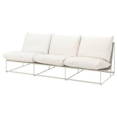 havsten 3місний диван кімнатний/вуличний, без підлокітників