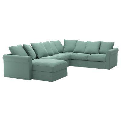 gronlid кутовий диван 5місний, з кушеткою