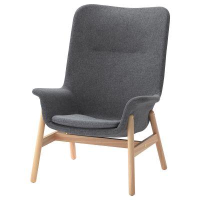 vedbo крісло із високою спинкою